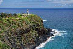 Kauai lighthouse kilauea point Royalty Free Stock Photo
