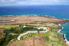 Kauai Marriott semesterort royaltyfria bilder