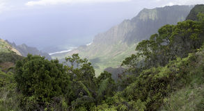 Kauai. One of the Hawian Islands Stock Images