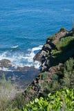 Kauai's Coastline Royalty Free Stock Photo