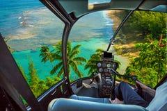 Kauai scenic flight Royalty Free Stock Photo