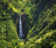 Kauai-Wasserfall Stockfoto