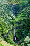 Kauai Waterfall royalty free stock photos
