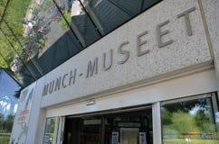 Kauen Sie Museum in Oslo stockbilder
