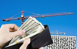 Kauf der Neubauwohnungen Stockfotos