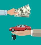 Kauf, Miete oder mieten ein Autokonzept Stockfoto