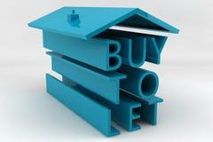 Kauf zum zu lassen Lizenzfreies Stockfoto