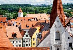 Kaufbeuren. Church and old town of kaufbeuren - bavaria - germany Stock Photos