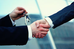 Kaufen Immobilien Stockfoto