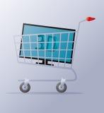 Kaufen Sie Fernsehen Lizenzfreie Stockbilder