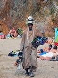 Kaufen Sie Panama-Hut! Lizenzfreie Stockfotografie