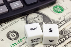 Kaufen Sie US-Dollar Lizenzfreies Stockfoto