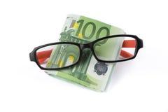 Kaufende Brillen Lizenzfreie Stockbilder