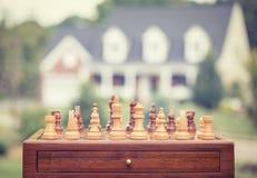 Kaufende Immobilienausgangsstrategie Stockbilder