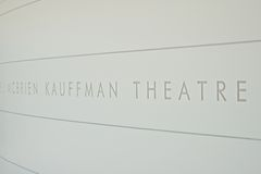 Kauffman Center for the Performing Arts Royalty Free Stock Photo