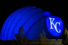 Kauffman centrum przedstawienia - Kansas City fotografia royalty free