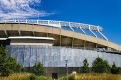 Kauffman Stadium-Haus der Kansas- Cityroyals Stockbild