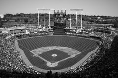 Kauffman Stadium - Kansas City Royals Royalty Free Stock Image