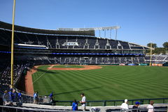 Kauffman Stadium - Kansas City Royals Royalty Free Stock Images