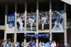 Kauffman Stadium - Kansas City Royals Royalty Free Stock Photography