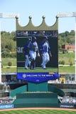 Kauffman Stadium - Kansas City Royals Royalty Free Stock Photos