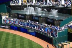 Kauffman Stadium - Pepsi Porch and Fountains Royalty Free Stock Image