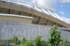Kauffman Stadium pour l'équipe de Kansas City Royals photographie stock