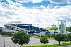 Kauffman StadiumAKA Kansas City Royals arkivfoto