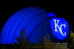 Kauffmancentrum van de Uitvoerende kunsten - Kansas City Royalty-vrije Stock Fotografie