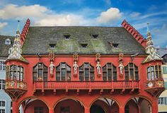 Kaufhaus a Friburgo Immagine Stock Libera da Diritti