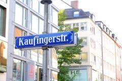 Kaufingerstr Стоковое Изображение