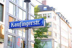 Kaufingerstr. Stock Image