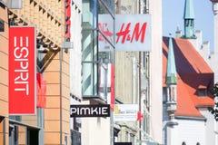 Kaufingerstraße fashion Stock Images