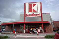 Kaufland Hypermarket Royalty Free Stock Photography