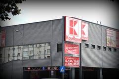 Kaufland sklep, supermarket Obraz Stock