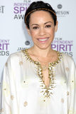 Kaui Hart Hemmings arrives at the 2012 Film Independent Spirit Awards Royalty Free Stock Images