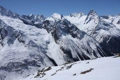Kaukasische Berge Stockbilder