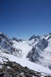 Kaukasische Berge Stockfotos