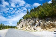 Kaukasische Berge Stockbild