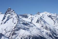 Kaukasische bergen Royalty-vrije Stock Afbeelding