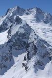 Kaukasische bergen Stock Afbeelding