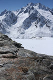 Kaukasische bergen Stock Foto
