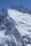 Kaukasische bergen Royalty-vrije Stock Foto's