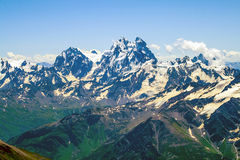 Kaukasische Kanten Stockfoto