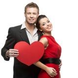 Kaukasische lächelnde Paare Lizenzfreies Stockfoto