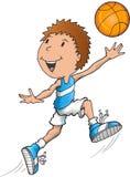 Kaukasischer Basketball-Spieler Stockbild