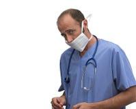 Kaukasischer Doktor Lizenzfreies Stockbild