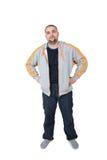Kaukasischer Mann Lizenzfreies Stockfoto