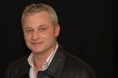 Kaukasischer weißer Mann Lizenzfreies Stockfoto