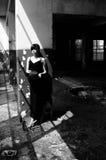 Kaukasisches Mädchen, das Traurigkeit ausdrückt Lizenzfreies Stockbild